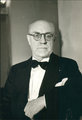Henri Matisse - portrait facing wearing a dinner jacket and bow tie by Henri Matisse