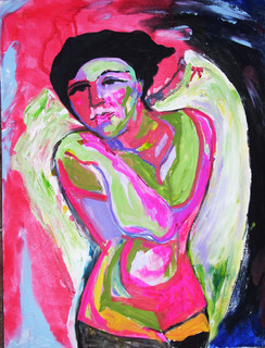 THE ANGEL NUDE PICASSO by Raquel Sara Sarangello