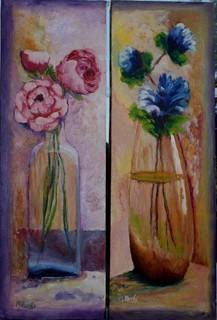 gerros amb flors by MONTSE PARÉS FARRÉ