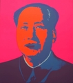 Mao-Hot Pink by Andy Warhol