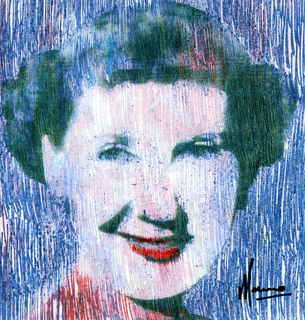 Mamie Eisenhower,first lady of the United States by Marco Mark