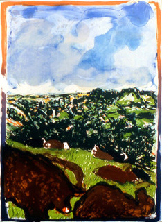 Devonshire Bullocks by Malcom Morley