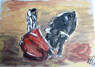 FIGHTING II by CARMEN PEÑA