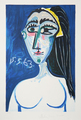 Buste de Femme Nue Face by Picasso Estate Collection