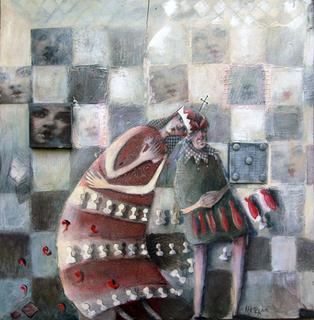 chess playing by Mariela Dimitrova MARA