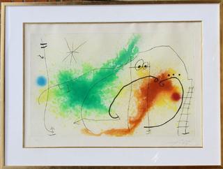Partie de Campagne IV by Joan Miró