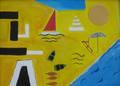 La Playa II by Roger Cummiskey