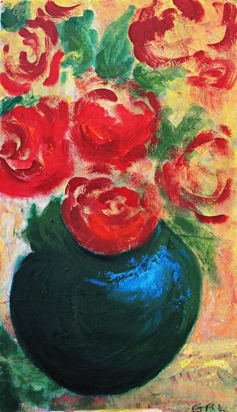 Red Roses II by g. linsenmayer