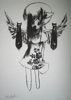 LIGHT ANGEL BOMBER #2 by Antony Micallef