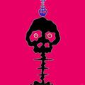 Time Bokan - Pink by Takashi Murakami