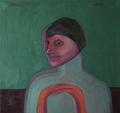 Portrait of a Woman 2 by Ricardo Hirschfeldt