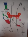 le petit escargot by Joan Miró