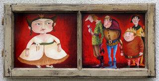 """ Time to hunt Princesses"" by Mariela Dimitrova MARA"