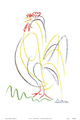 Rooster by Pablo Picasso