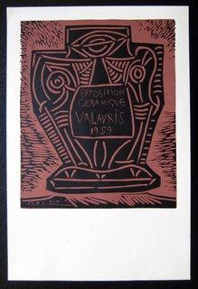 Exposition Ceramique Vallauris, 1959 by Pablo Picasso