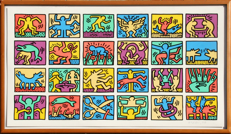 Keith Haring Self Portrait Keith Haring Artist Po...
