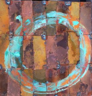 cirkle on cupper by Mónica Cuén