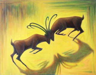 Goats. by Pablo Daza