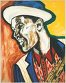 Dexter Gordon by Frederick Brown