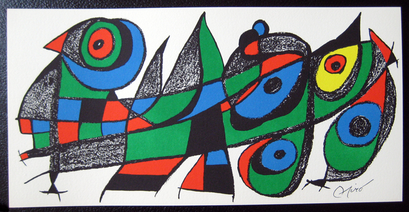 Miro Sculptor - Japan Original Art by Joan Miró :: PicassoMio