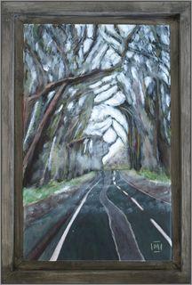 The Avenue,  Bradwell - framed by Mania Row
