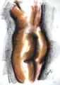 Nude woman by Enrique Terré Tequila