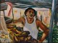 Greengrocer by Sylva Zalmanson