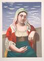 Italienne d' après une Photographie by Picasso Estate Collection
