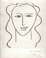 Madelaine - Etude by Henri Matisse