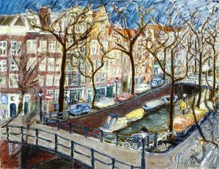 AmsterdamCanal by Joan de Bot
