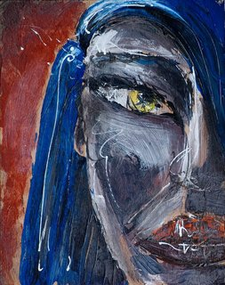 """Andrea's Eyes by Thierry  """"Deth"""" Delsart"""