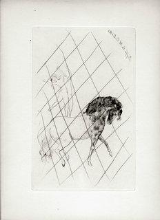 Au Cirque by Pablo Picasso