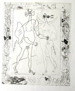 Theogonie by Georges Braque