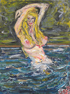 Topless Mermaid by Patrick Ginter