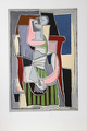 Femme au Tablier Rayé Vert by Picasso Estate Collection