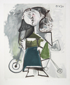 Fillette au Tricycle by Picasso Estate Collection
