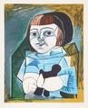 Paloma en Bleu by Picasso Estate Collection