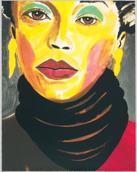 Sarah Vaughan by Frederick Brown