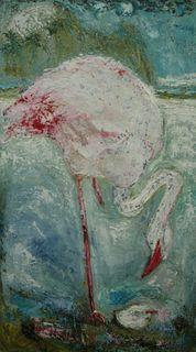 Flamingos by Mania Row