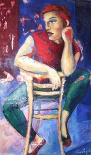 THE THINKER by Raquel Sara Sarangello