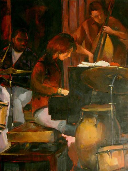 """Jazz Session II by Enrique López Suárez """"Elosu"""""""