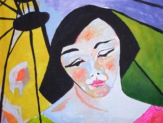 Portrait oriente by Raquel Sara Sarangello