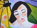 Portrait oriente by Raquel Sarangello