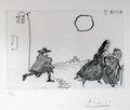 La Celestine, Fuite a L'Aube by Pablo Picasso