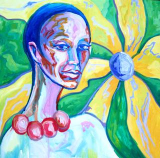 ZEN WOMEN FLOWERS by Raquel Sara Sarangello