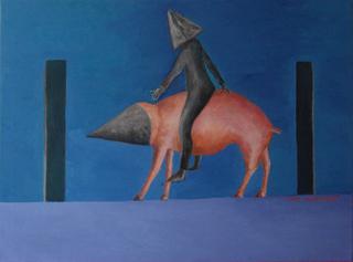 Mounted Schweinefleisch by Ricardo Hirschfeldt