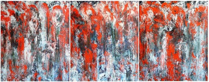 Triptych. Dark Side by Oleg Frolov