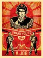Get a Job by Shepard Fairey