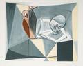 Tête de Mort et Livre by Picasso Estate Collection