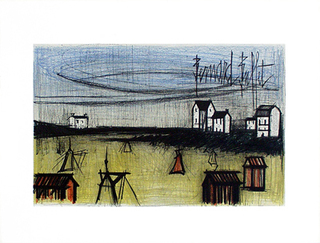 A Small Beach by Bernard Buffet